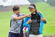 2016年 サントリーレディスオープンゴルフトーナメント 最終日 カン・スーヨン 成田美寿々