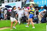 2016年 サントリーレディスオープンゴルフトーナメント 最終日 カン・スーヨン キム・ハヌル