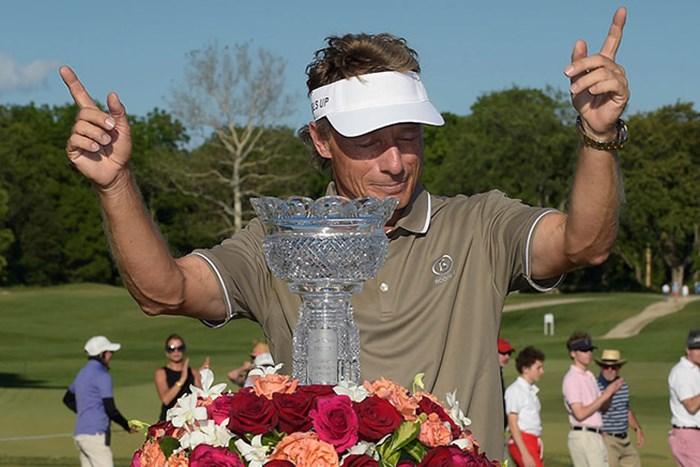 強いランガー!大会3連覇で今季メジャー2勝目(Stan Badz/PGA TOUR) 2016年 コンステレーション・シニアプレイヤーズ選手権 最終日 ベルンハルト・ランガー