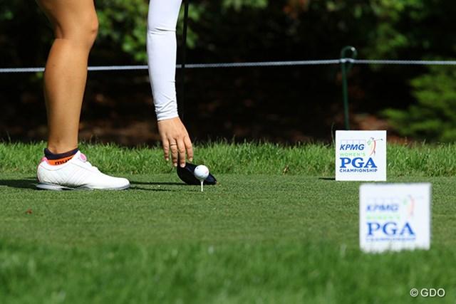 2016年 KPMG女子PGA選手権 最終日 KPMG 昨年から世界的大手会計会社とPGAオブアメリカが共同で大会をサポート。メジャー大会の雰囲気が盛り上がっている