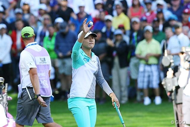 2016年 KPMG女子PGA選手権 最終日 リディア・コー メジャー3連勝はならなかったが、世界ナンバー1の貫禄は見せつけた