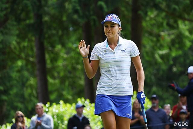 2016年 KPMG女子PGA選手権 最終日 レクシー・トンプソン 最終日に今週初のアンダーパー「68」でプレーして面目を保った