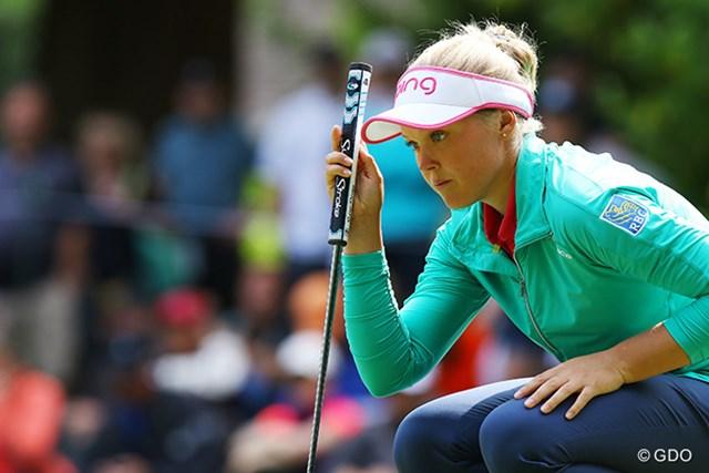 ブルック・ヘンダーソン 「KPMG女子PGA選手権」でメジャー初制覇を果たし、世界ランク2位となったカナダのヘンダーソン
