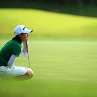 いつもは女子のトーナメントで見かけるがその時とは違う空気を感じる 2016年 トヨタジュニアゴルフワールドカップ Supported by JAL 初日 新垣比菜