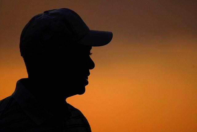 今季メジャー最終戦で勝利を狙うタイガー・ウッズ(Scott Halleran/Getty Images)