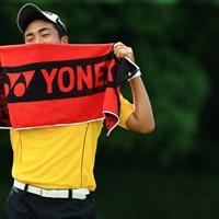 YONEXが日本チームを支えてます 2016年 トヨタジュニアゴルフワールドカップ Supported by JAL 2日目 杉原大河