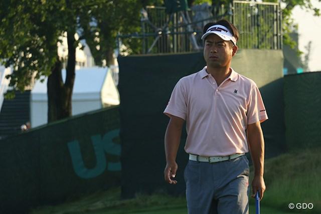 6年ぶり2度目の全米オープン出場。池田勇太が日本勢のトップバッターでスタートした