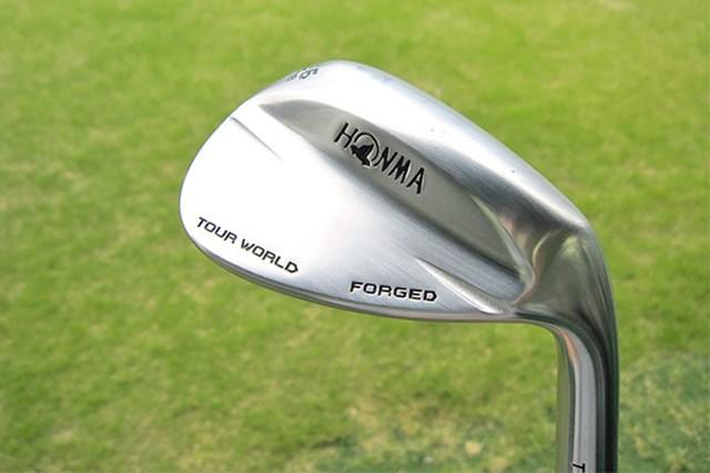 本間ゴルフ TW-W フォージド ウェッジ 新製品レポート(画像 1枚目) 本間ゴルフ TW-W フォージド ウェッジを試打レポート