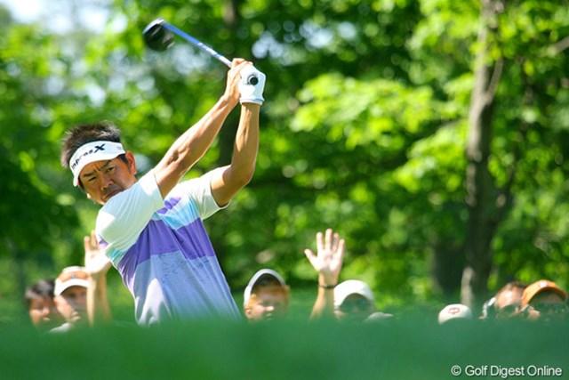 初出場を果たした昨年大会では、日本勢としてただ1人予選突破を遂げた藤田寛之。今年もかかる期待は大きい