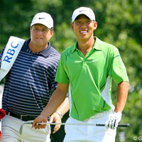 初日、2日目と石川遼と同組で回るA.キム。「マスターズ」に続き再び直接対決となる 2009年 全米プロゴルフ選手権事前情報 アンソニー・キム