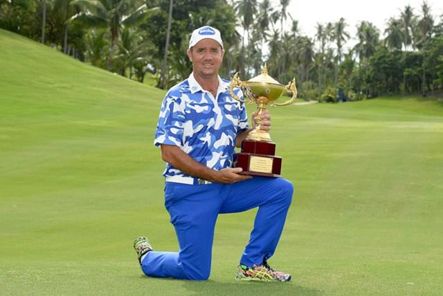 逆転で今季2勝目を飾ったスコット・ヘンド※画像提供:Asiantour