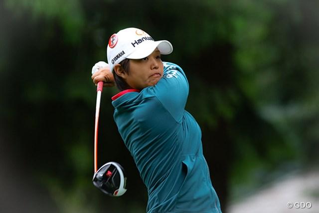 2016年 マイヤーLPGAクラシック 最終日 野村敏京 今季5度目のトップ10にもプレーに不満を募らせた野村敏京 ※撮影はKPMG女子PGA選手権