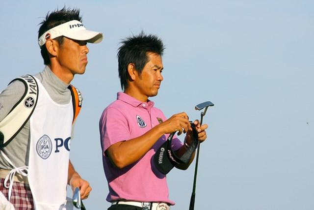 2009年 全米プロゴルフ選手権初日 藤田寛之 小さな巨人、藤田寛之が17位タイの好スタート! まずは2年連続の予選突破を目指す
