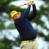 アメリカPGAツアーで活躍するオーストラリアのゴルファー。黄色がトレードマークです。 2016年 ISPSハンダグローバルカップ 3日目 ジャロッド・ライル