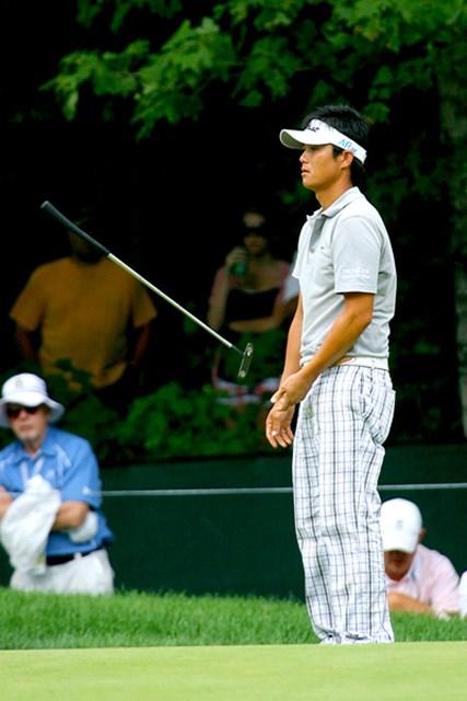 2009年 全米プロゴルフ選手権初日 今田竜二 不調から脱せず…大きく出遅れてしまった今田竜二