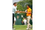 2009年 全米プロゴルフ選手権初日 片山晋呉