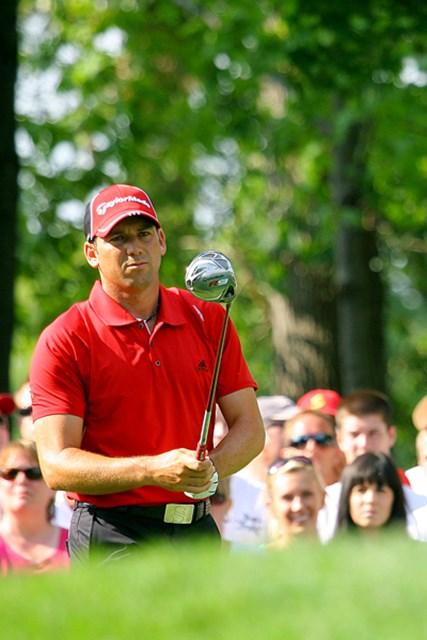 2009年 全米プロゴルフ選手権初日 セルヒオ・ガルシア 悲願のメジャー初タイトルを狙うS.ガルシアは、4打差の17位タイ発進