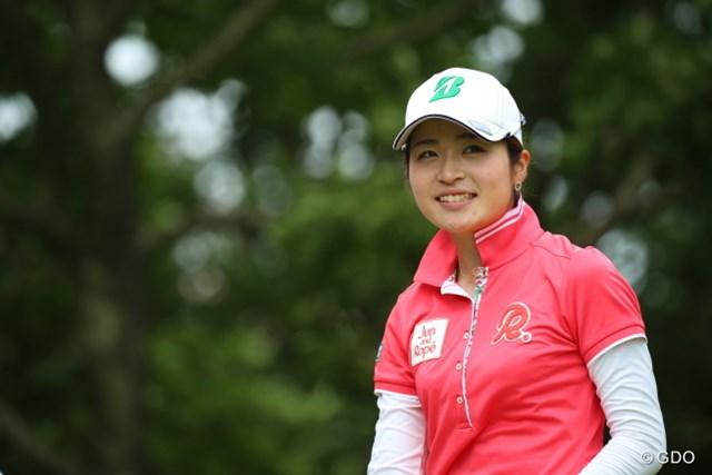 ゴルファーなのにナチュラルに色白。