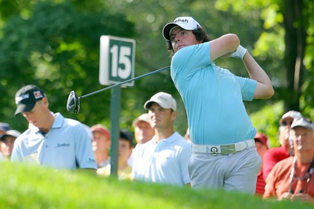 2009年 全米プロゴルフ選手権初日 ロリー・マキロイ 同じく17位タイとした北アイルランド出身のR.マキロイ。米国本土のメジャーでも、その実力は健在だ