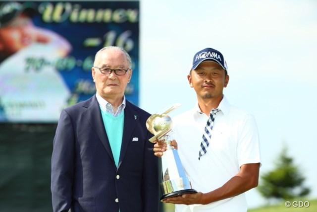 昨年は岩田寛が2打差の3位から逆転優勝した
