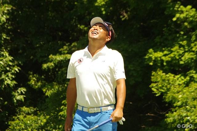 プロアマ戦では終始笑顔だった池田勇太。改めてリオ五輪への出場に意欲を示した