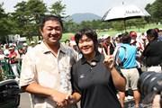2009年 NEC軽井沢72ゴルフトーナメント 2日目 川岸史果