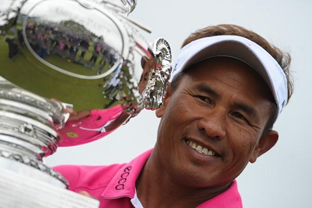 トンチャイ・ジェイディーがツアー8勝目を挙げた(Andre Ferreira/Icon Sport via Getty Images)