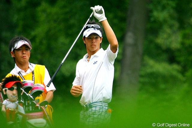 2009年 全米プロゴルフ選手権3日目 石川遼 ショートゲームに苦しんだ石川遼は、70位タイに後退