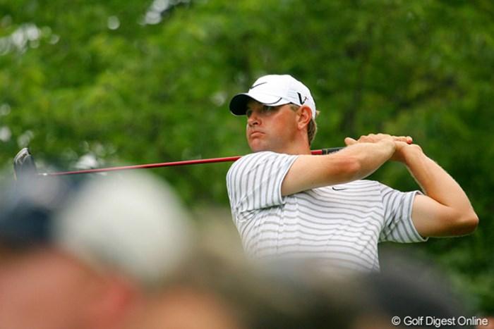 今季のメジャー2勝目を狙うL.グローバー。2打差の2位タイで最終日へ 2009年 全米プロゴルフ選手権3日目 ルーカス・グローバー