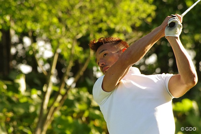 2016年 ネスレインビテーショナル 日本プロゴルフマッチプレー選手権 レクサス杯 事前 中田英寿氏 正確性のあるティショット