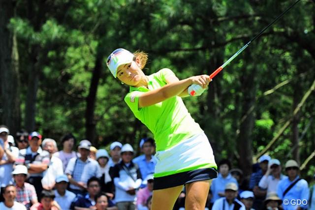渡邉彩香 スケールの大きい飛ばし屋・渡邉彩香は全米女子オープンの成績で五輪代表入りを狙う