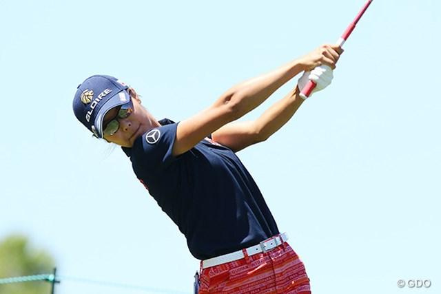 2016年 全米女子オープン 事前 松森彩夏 日本での予選会を通過した松森彩夏は前年大会に続く2回目の出場
