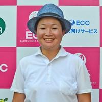 プロ未勝利の足立由美佳が単独首位で最終日へ ※画像提供:日本女子プロゴルフ協会 2016年 ECCレディス ゴルフトーナメント 2日目 足立由美佳
