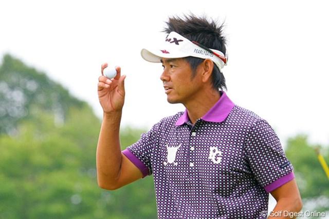 2009年 全米プロゴルフ選手権3日目 藤田寛之 穏やかな人柄の奥に、日本ツアーに対する熱い想いを秘めている藤田寛之