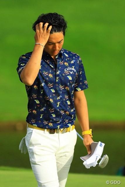2016年 日本プロ選手権 日清カップヌードル杯 初日 石川遼 明日は必ずや遼くんらしいゴルフで巻き返してくれることでしょう!