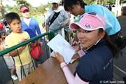 2009年 NEC軽井沢72ゴルフトーナメント 最終日 有村智恵