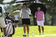 2009年 NEC軽井沢72ゴルフトーナメント 最終日 福嶋姉妹