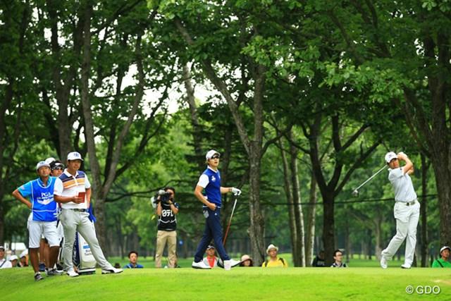 最終日も同じ3人が最終組。3人とも初の日本タイトルへ挑戦する