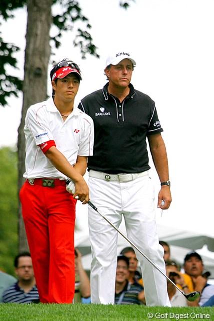 2009年 全米プロゴルフ選手権最終日 石川遼&フィル・ミケルソン 石川遼とフィル・ミケルソンの競演も最終日の見所だった