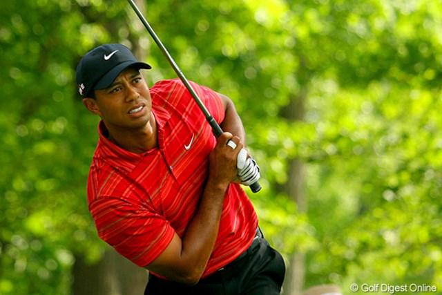2009年 全米プロゴルフ選手権最終日 タイガー・ウッズ メジャーでは初の逆転を喫したT.ウッズ。まさかの展開となった
