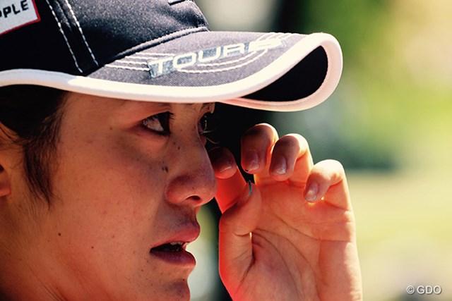 わずかの差でリオ五輪切符獲得を逃した渡邉はホールアウト後、涙をこらえきれなかった