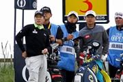 2016年 全英オープン 事前 キム・キョンテ(左)&ワン・ジョンフン