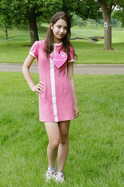 17歳でこの色香!モデルオーディション、ファイナリストの日向カリーナさん