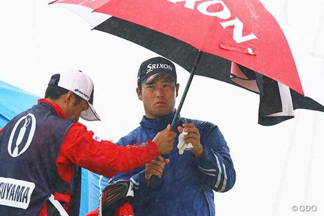 2016年 全英オープン 2日 松山英樹 リンクスの過酷な天候にも苦しめられる1日に。下位で予選落ちに終わった松山英樹