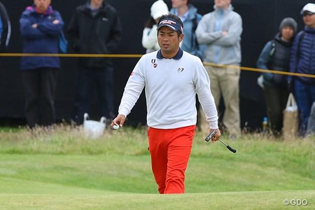 グリーン上で苦しみ順位を大きく下げた池田勇太