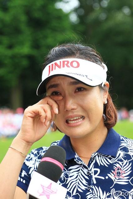 全美貞がケガ乗り越え3季振り、涙のツアー通算23勝目を飾った