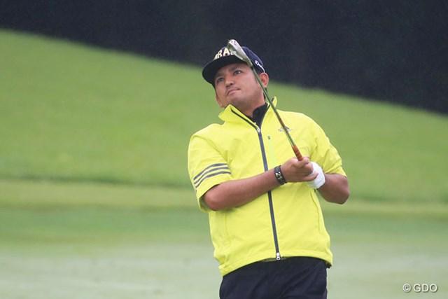 2016年 ダンロップ・スリクソン福島オープンゴルフトーナメント 2日目 正岡竜二 2日連続で「68」をマークした正岡竜二は首位に5打差
