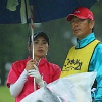 このコンビも長いね。 2016年 センチュリー21レディスゴルフトーナメント 初日 宅島美香