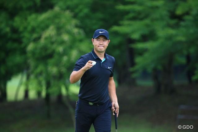 2016年 ダンロップ・スリクソン福島オープンゴルフトーナメント 2日目 薗田峻輔 7アンダー10位タイ今日はイーブンフィニッシュ