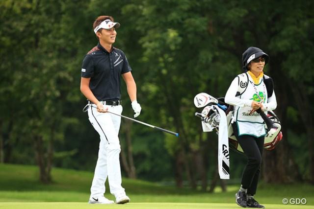 2016年 ダンロップ・スリクソン福島オープンゴルフトーナメント 3日目 大堀裕次郎 大きくなった裕次郎…大堀はプロ3年目のシーズンで初のシード獲得に邁進している